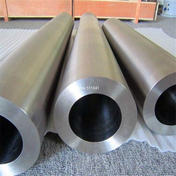 Grade2 gr2 tube titane tube titane 152mm * 12mm * 600mm, livraison gratuite