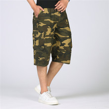 2018 New Cargo Shorts Summer Men Army Camouflage Shorts  Male Loose Camouflage Military Casual Shorts Cotton Tactical Shorts 5XL