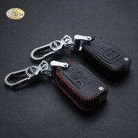 SNCN עור אמיתי רכב מפתח כיסוי case לביואיק אופל Vauxhall אסטרה Mokka Insignia GS XT GT GL8 מרחוק keychain טבעת מפתח