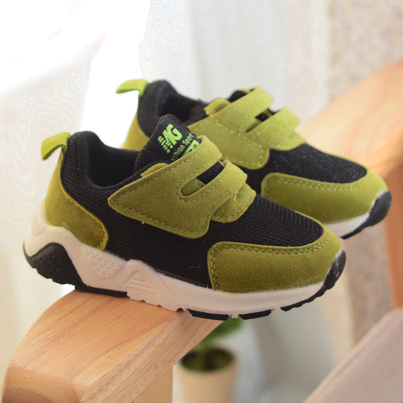 Autumn Kids Shoes Boys Sneakers Baby Children Casual Shoes Soft Girls Sports Fashion Light Breathable Mesh Running Shoes Toddler