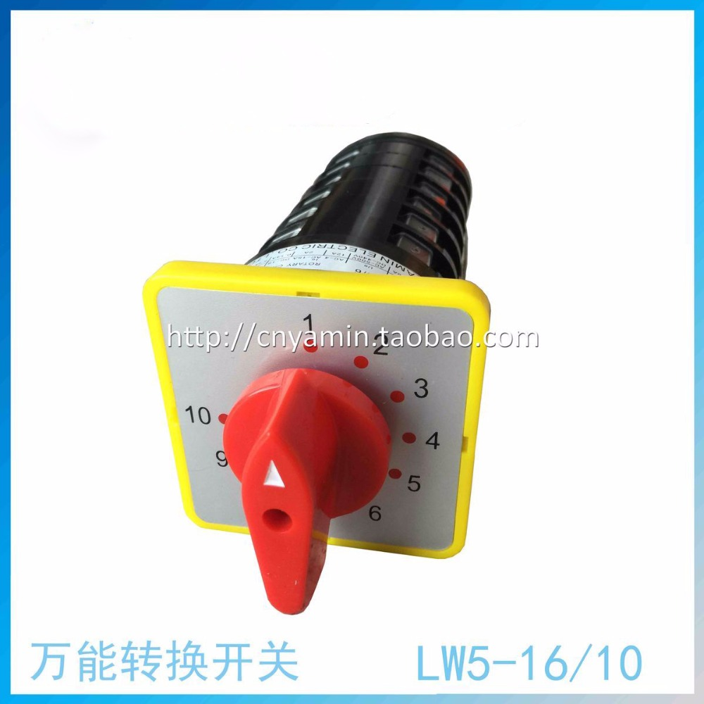 Limited Company Universal Change-over Switch 10 Archives LW5-16/6 Silver Point Rotating 6 Section 16A 660v ui 10a ith 8 terminals rotary cam universal changeover combination switch