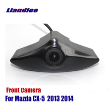 купить Liandlee AUTO CAM For Mazda CX-5 2013 2014 Car Front View Camera Logo Embedded Camera ( Not Reverse Rear Parking Camera ) дешево