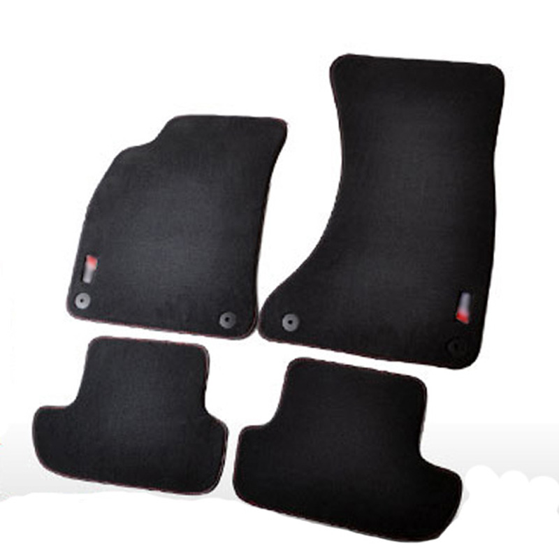 AUDI S5 2 Qapıları üçün bərk neylon avtomatik iysiz döşəmə - Avtomobil daxili aksesuarları - Fotoqrafiya 1