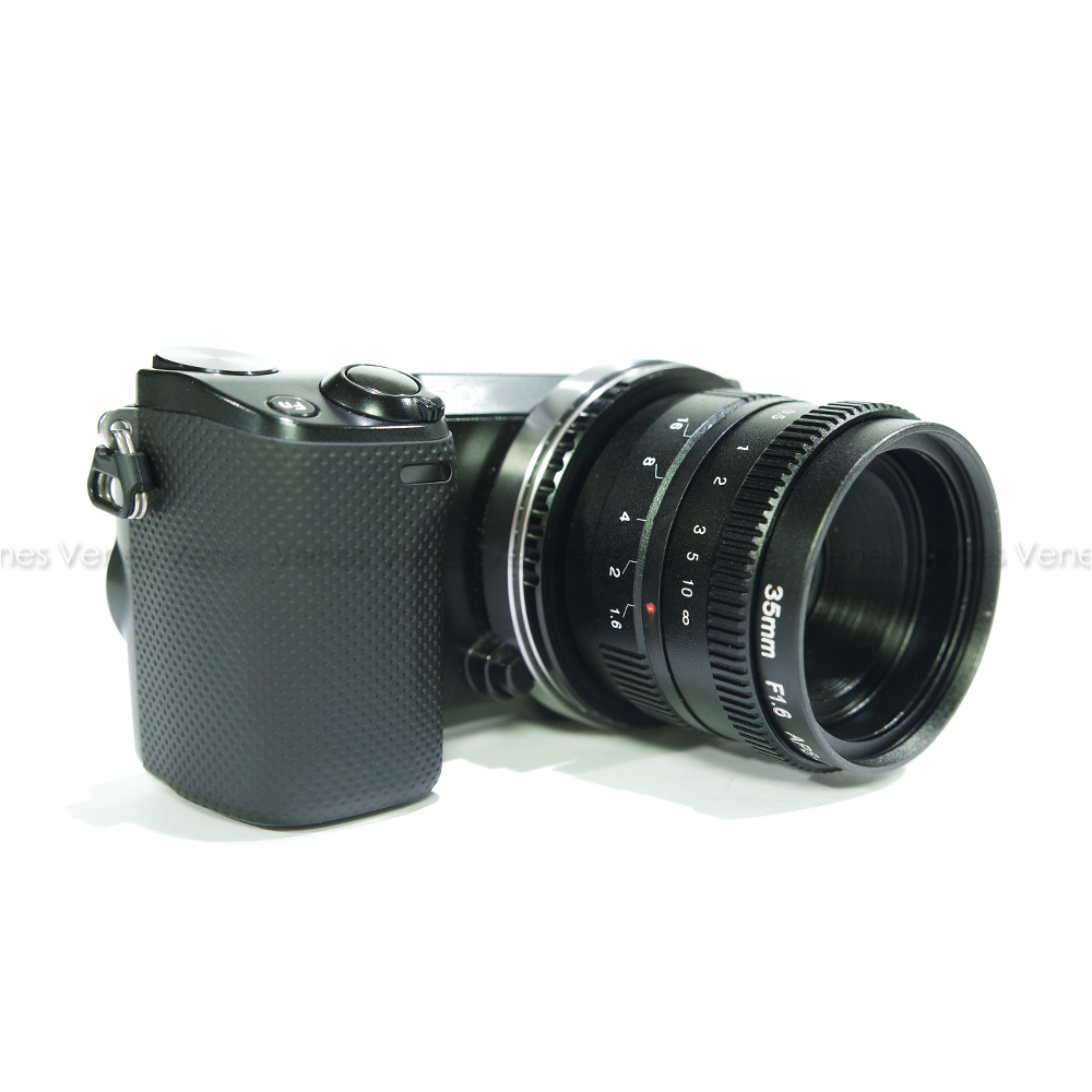 Suit For 16mm C Mount Camera 35mm F1.6 Black /APS-C Television TV Lens/C CTV Lens цена