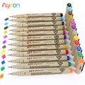 Ручки для рисования скетчей, 12 цветов, 0,5 мм