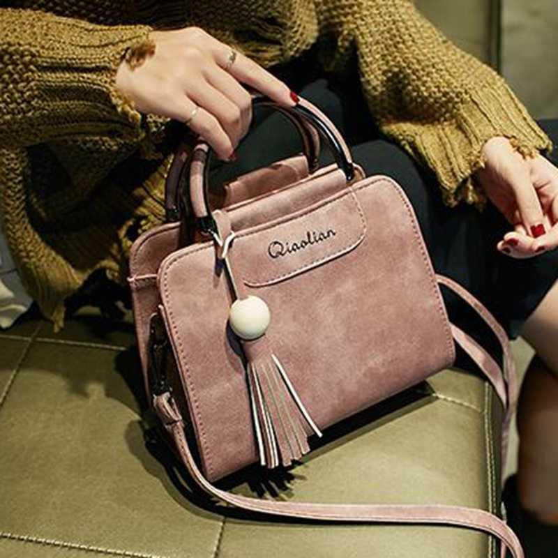 4a40df31834b ... Vogue Star Новинка 2019 года для женщин сумки, простой модный клапан,  тенденция кисточкой женская ...