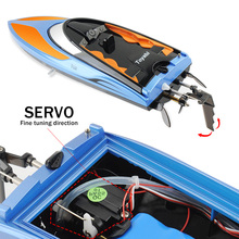 High Speed RC Boat T02 2.4GHz 4 Channel 30km/h Racing Remote Control Boat with LCD Screen as gift For children Toys Kids Gift