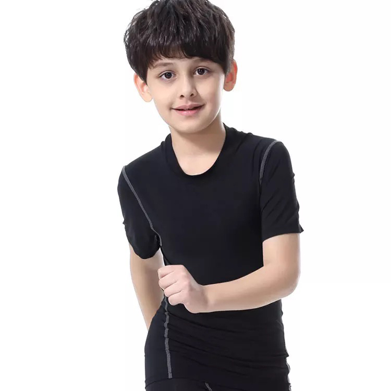 JETS Free Shipping Cheap Youth Short Sleeves T Shirt Blank Quick Dry Shirts In Stock Four Color Multicolor