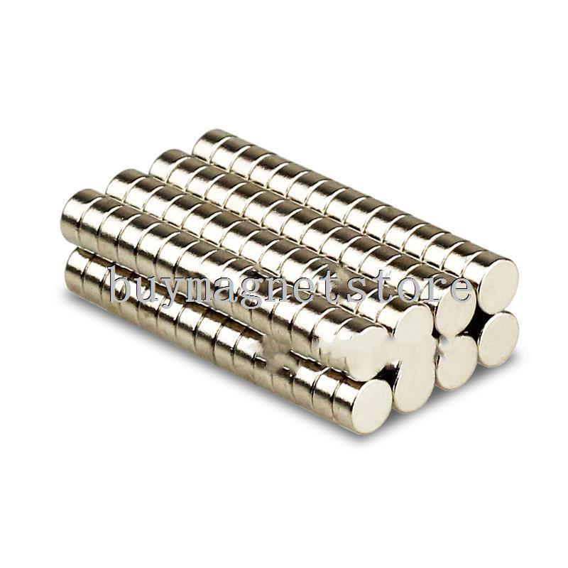 500 x Disc Round Neodymium Rare Earth Magnets 4 mm x 2 mm n52 craft fridge models ndfeb Neodymium magnet 4*2 greeting word style fridge magnets 4 pack
