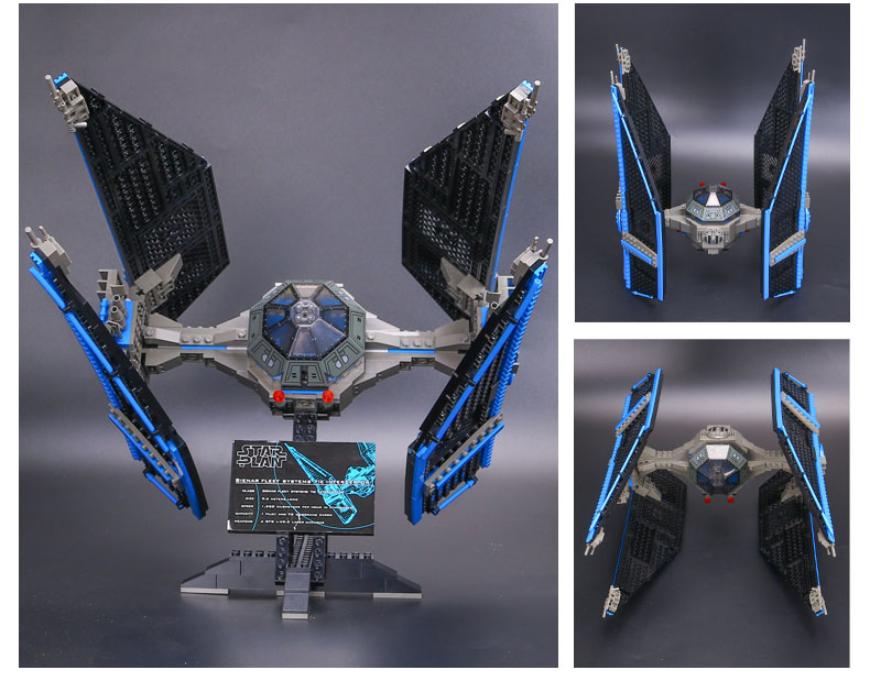 Star Series Wars Building Block 05044 The TIE Interceptor Compatible with Legoing 7181 Toys For Children 2