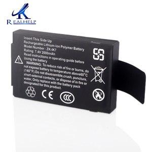 Image 1 - 作業することができ 3 に 5 時間 IK7 リチウム電池 7.4v 2000 内蔵バッテリー充電式バッテリー zk iface 機