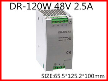 DR-120-48 Din Rail Switching power supply 120W 48VDC 2.5A Output