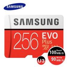 SAMSUNG Memory Card 512GB 256G 128GB C10 EVO Plus U3 Micro SD Card 64GB U1 SDXC 100MB/s TF Cards Trans Flash SD Card