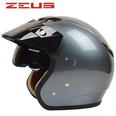 Top Qualité Jet Casque De Moto De Style Touring casque approuvé DOT vélo casque ZERUS made in Taiwan