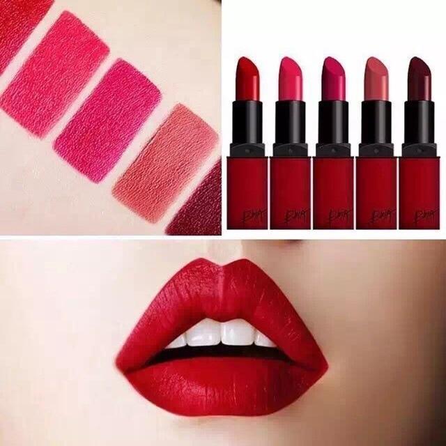 nouvelle cor en marque maquillage rouge l vres meilleur beaut rouge mat rouge l vres. Black Bedroom Furniture Sets. Home Design Ideas