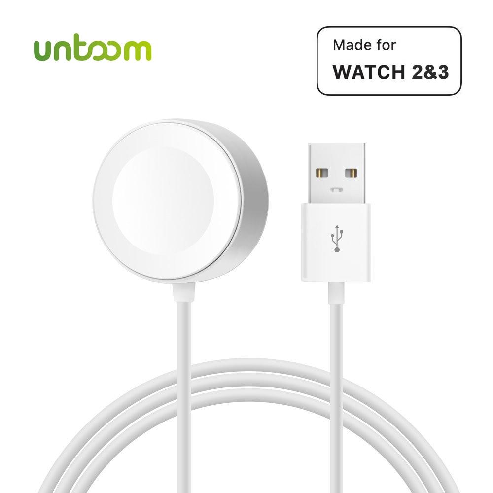 Sans fil Chargeur pour iWatch Série 2 3 USB MFi Certifié Magnétique iWatch De Charge Câble 3.3 pieds/1 mètres pour Apple Montre Chargeur