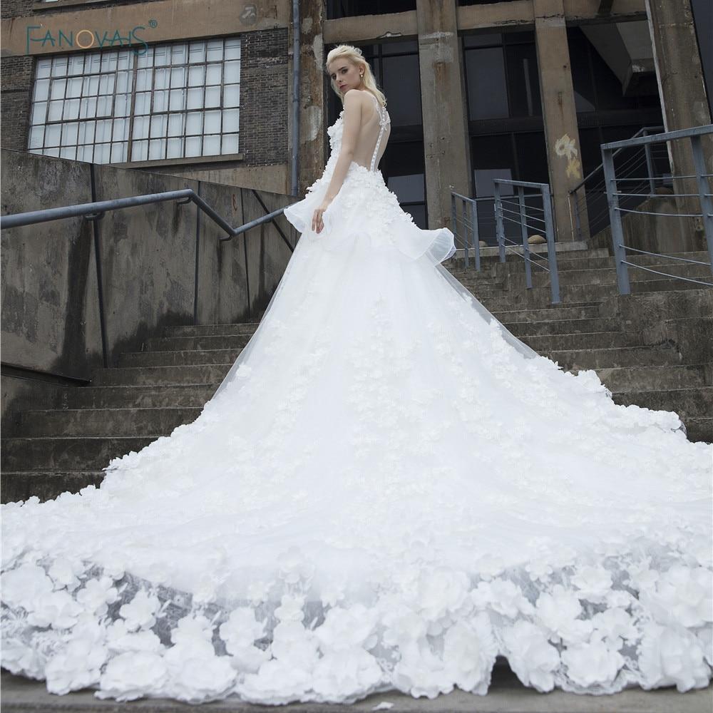 Vintage Wedding Dresses Under 500: Vintage Wedding Dresses 2017 Cathedral Train Ball Gown