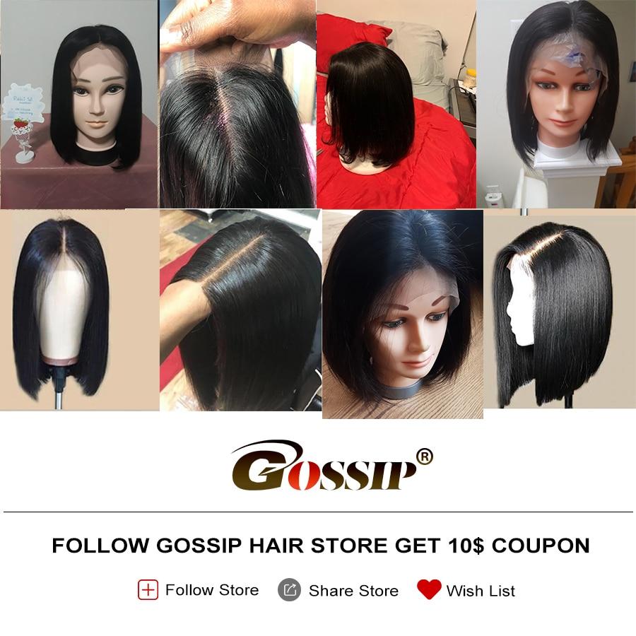 Σύντομη περούκα μαλλιών περούκα - Ανθρώπινα μαλλιά (για μαύρο) - Φωτογραφία 5