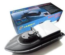 Hot 2016 Jabo 2BL black RC Bait Fishing Boat  with Sonar Fish finder Li-PO battery