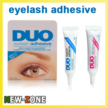 c455c5f6129 DUO Waterproof Eyelash Adhesive flash eyelash gLue 15g Black+ White The Best  Eyelash Glue 2PCS Free Shipping