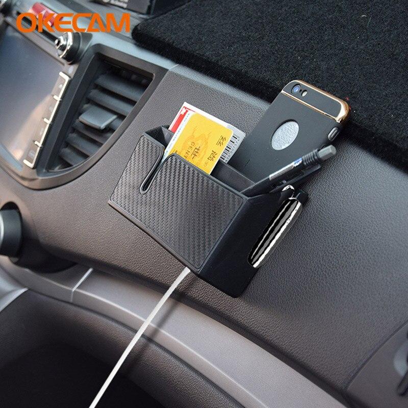 Car Storage Box Bag Interior Accessories for Saab 9-3 9-5 93 9000 900 95 for Mini Cooper S R50 R53 R56 F56 Countryman R60 One