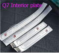Free shipping!! Car styling stickers accessories door sill scuff plate fit for Audi Q7 2015