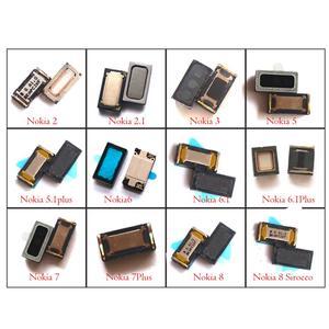 Image 1 - 2x nowy oryginalny telefon komórkowy słuchawka głośnik odbiornik dla Nokia 2 2.1 3 3.1 5 5.1 6 6.1 7 7.1 8 plus Sirocco