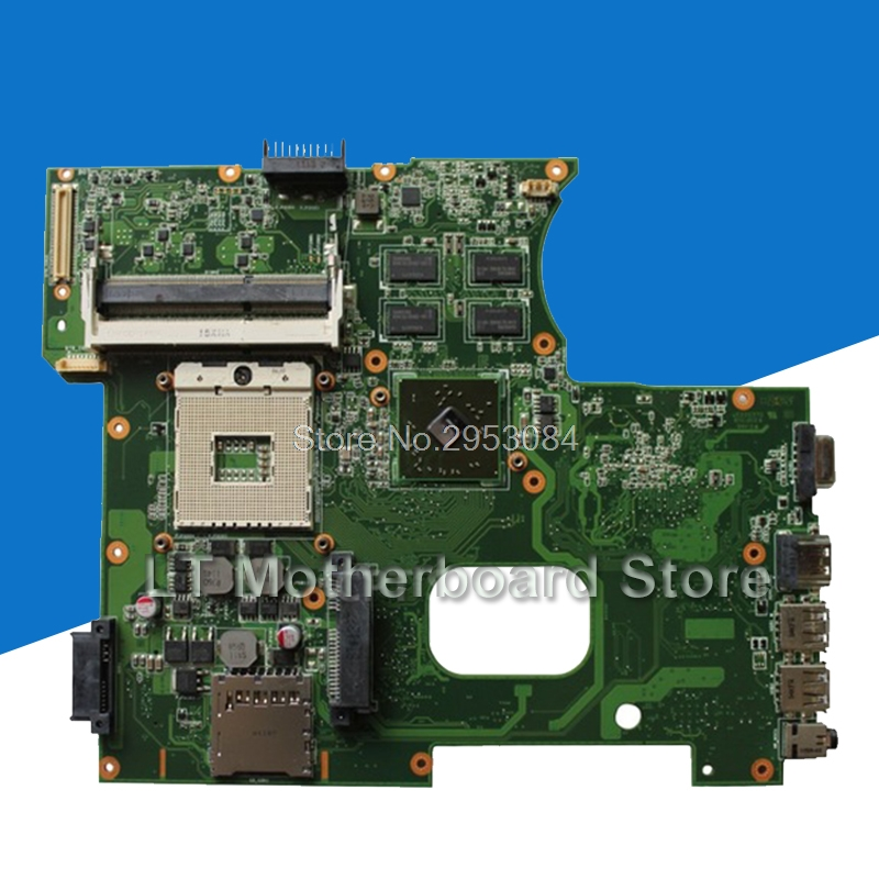 цена K42JR motherboard For ASUS X42J K42J laptop Motherboard REV 4.0 fit for K42JB K42JZ K42JY mainboard DDR3 HM55 free shipping S-4