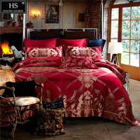 28 Momme Mulberry Silk 4 Piece Bedding Sets King Size Yarn Dyed Jacquard Duvet Cover BedSheet Pillow Case Paisley scroll pattern