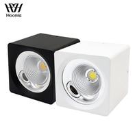 Oferta Envío Gratis excelente calidad superficie montada LED Downlight COB 10 W 20 W 30 W 40 W Hogar y mazorca comercial downlight