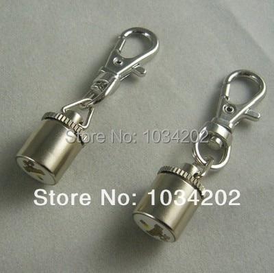 Pet Dog Cat Flasher Blinker LED Light Tag Collar silver free shipping 200pcs
