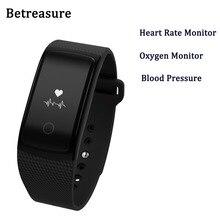Betreasure Smart Band Bluetooth4.0 Водонепроницаемый Одежда заплыва Смарт Браслет Спорт сердечного ритма Мониторы Фитнес браслет для iOS и Android