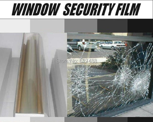 Bullet Proof Window Film For Car Building Protection Window Glass