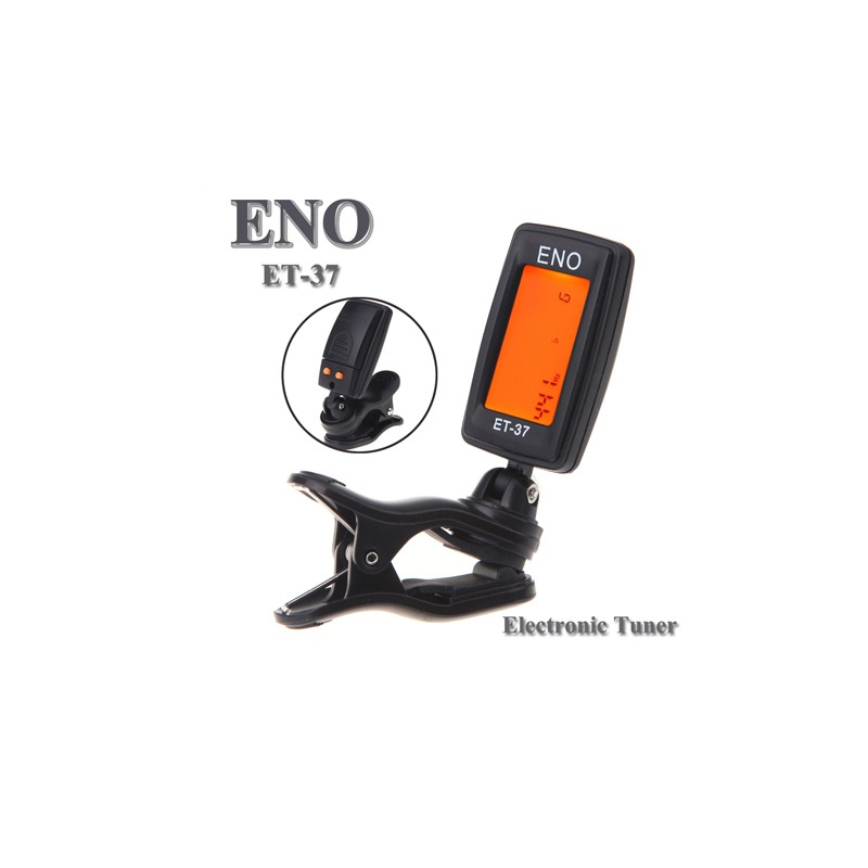 eno guitar tuner mini lcd clip on electronic guitar chromatic bass violin ukulel tuner wind. Black Bedroom Furniture Sets. Home Design Ideas
