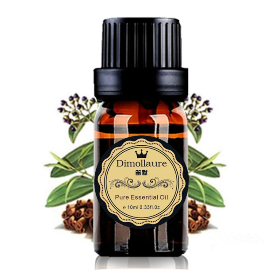 Dimollaure Dropshipping Cinnamon Essential Oil Aphrodisiac Skin Care Anti-aging Antibacterial SPA Massage Aromatherapy Plant Oil