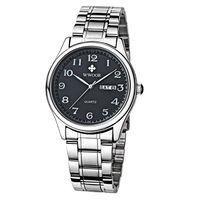 Original Mens Watch Brand WWOOR Auto Date Steel Sport Wristwatch Relojes Dress Men Casual Watches With