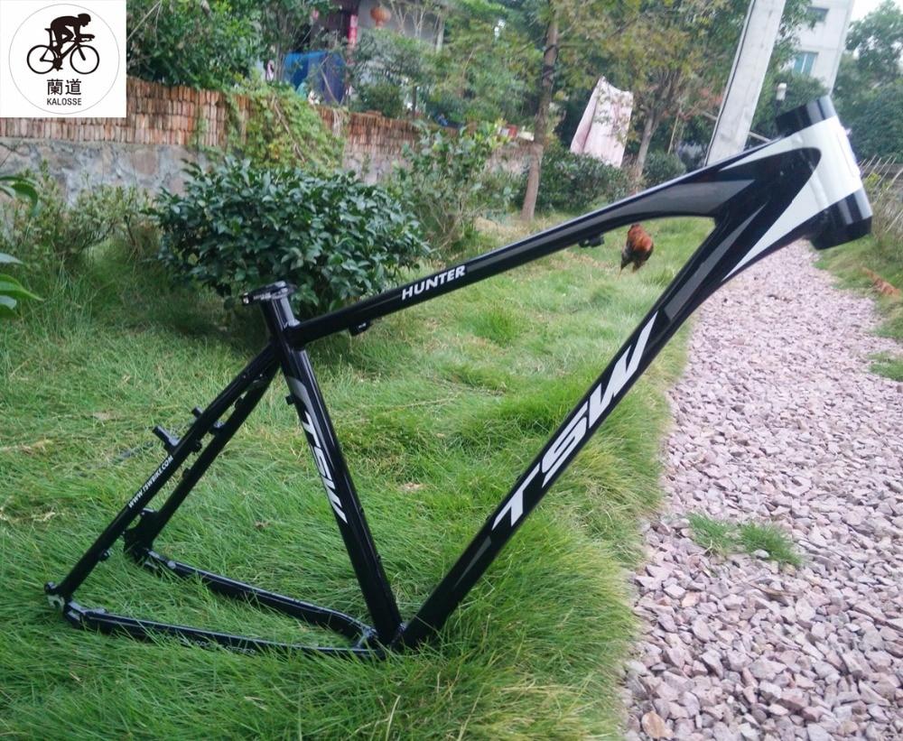 Kalosse BB größe 68mm 29*19 zoll Hart bike rahmen 6061 aluminium ...