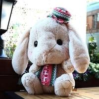 Bunny Lolita Plush Rabbit Cosplay 40cm Cute Soft Lop Inside Princess Sweet Doll Loppy Bunny Pink Bow Shy Bunny Children's Gift