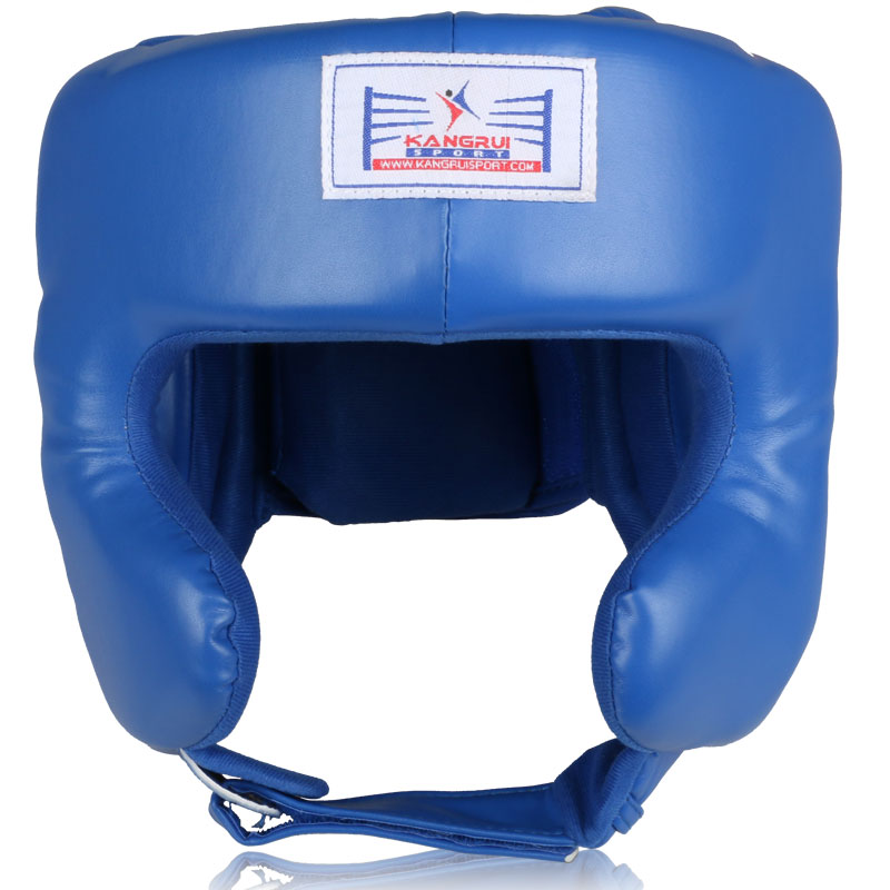 Head Guard Helmet Boxing Training MMA Face Protector Kick Headgear Martial Art
