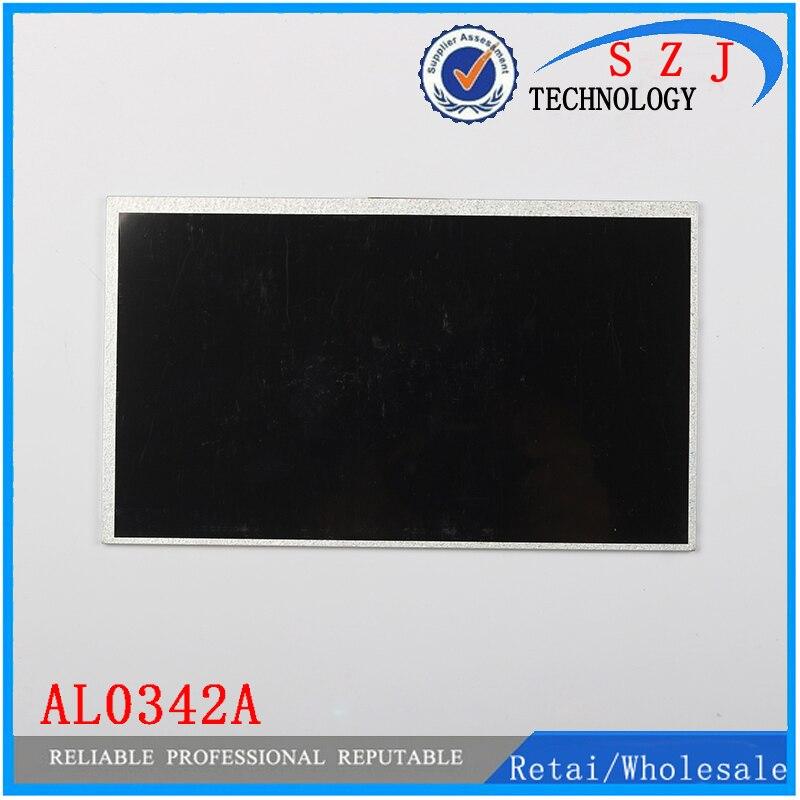 Original 10.1 inch Tablet PC LCD display AL0342A LCD Screen Panel Digitizer Sensor Replacement Free Shipping original 9 inch lcd display panel fpc9005001 for tablet pc lcd screen replacement free shipping