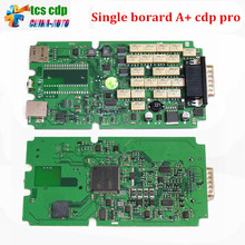 Best Quality Single Green PCB board TCS CDP+ Pro NO Bluetooth cars & Trucks Diagnostic tool 2014.2/2015.3 Optional