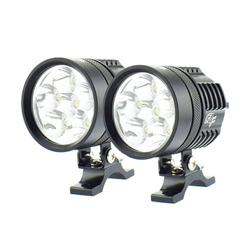 Motorbike Work spot lamp 60w Motorcycle Headlight LED bulb 12v 6000k super bright headlamp spotlights Moto fog lights ATV DRL