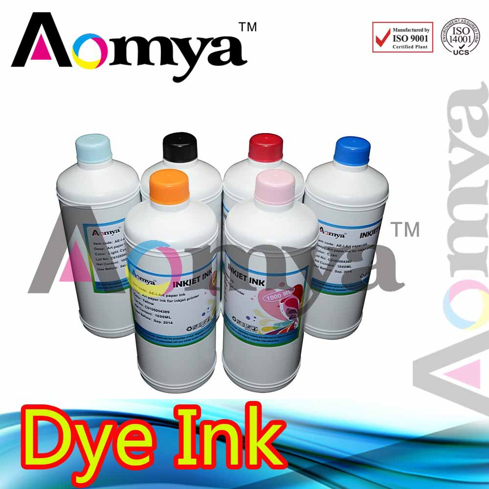 6color Aomya Specialized Dye Ink Compatible for <font><b>HP</b></font> <font><b>72</b></font> Designjet Printer T610 T620 T770 T790 T1100 T1120 T1200 T1300 T2300 image