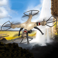 SYMA X8HW 2.4G 4CH RC Drone With WiFi HD Camera Helicopter Quadcopter With Hovering Function Headless Mode 3D Flip Aircraft