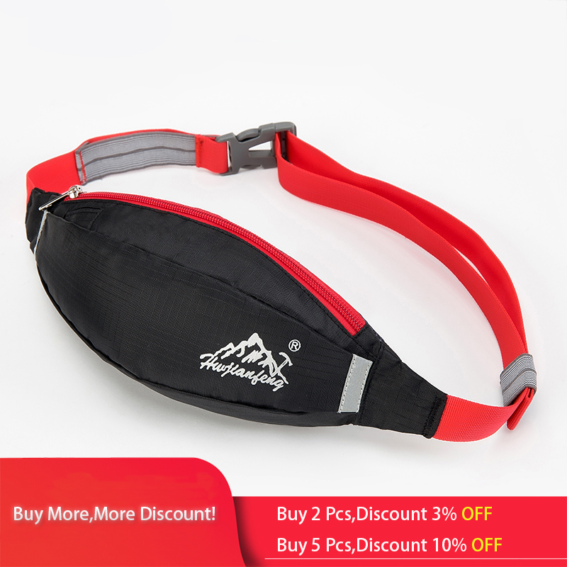 Running waist pack for Men Women Fanny Pack Bum Bag Hip Money Belt travelling Mountaineering Fishing Cycling Mobile Phone Bag