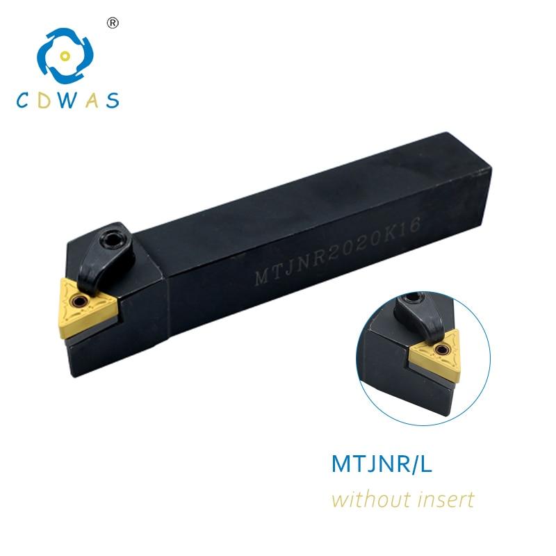 MTJNL 2020K16 External Turning Tool Holder for TNMG1604 Lathe