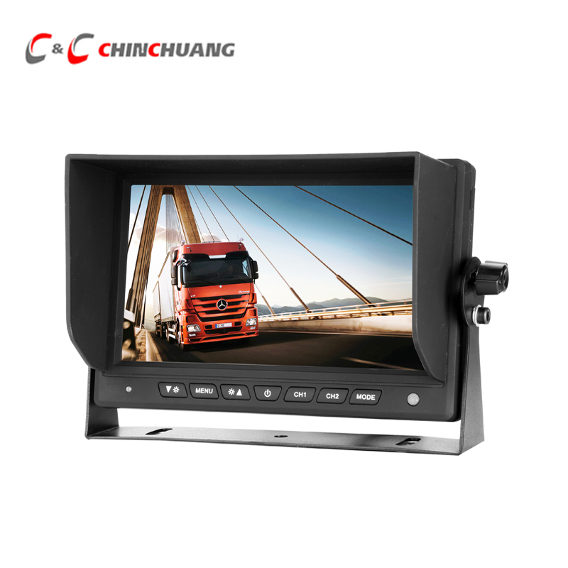 HD 7 inch Car Backup Reverse TFT LCD Digital Monitor Rear View Screen for Truck Bus