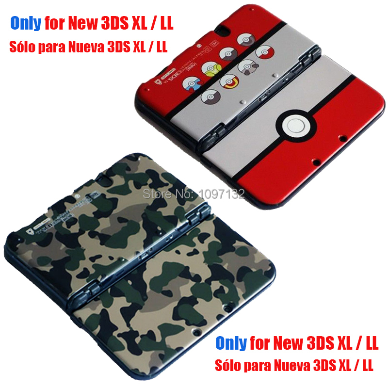 For NEW 3DSXL Matte Hard Protective Housing Shell Cover Case For Nintendo NEW 3DS XL LL Game Console Protector Decal Accessories