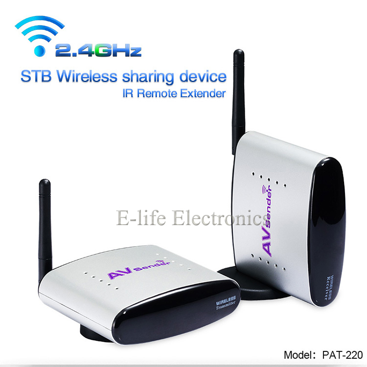 2.4G Design STB Wireless Transmitter and Receiver with IR Remote Control-2.jpg
