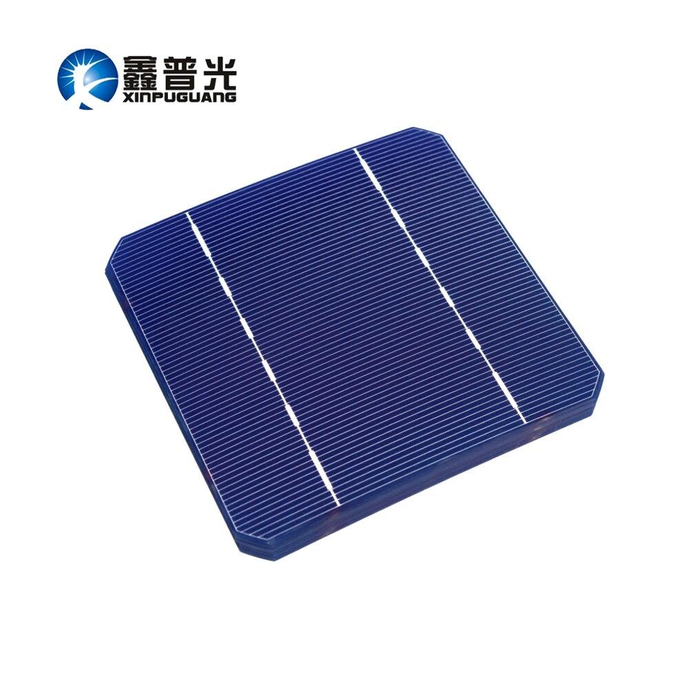 XINPUGUANG 100PCS solar cell 280w solar panel DIY kit Mono cell PV Photovoltaic 125*125mm 2.8w monocrystalline Silicon